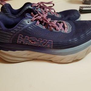 Hoka one size 10 bondi 6 used sneakers